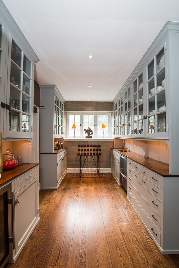 Chestnut Hill Philadelphia Kitchen And Powder Room