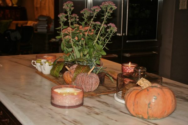 Autumn Pumpkin Table