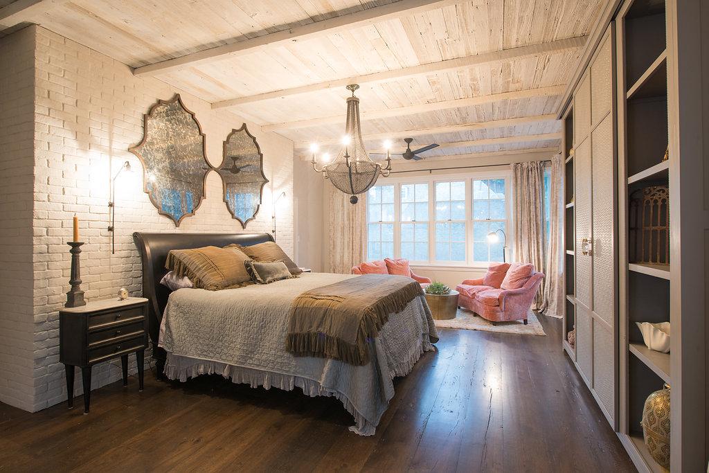 Philadelphia urban farmhouse philadelphia interior design for Urban farmhouse bedroom