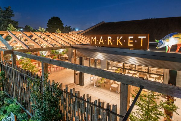 The Chestnut Hill Beer Garden: Market at the Fareway